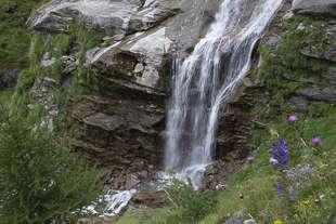 cascade Bobbio Pellice Villanova
