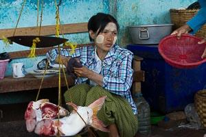 Bagan marché Nyaung U