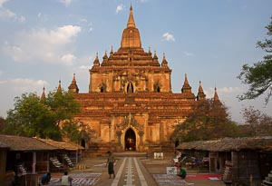 Bagan temple Sulamani