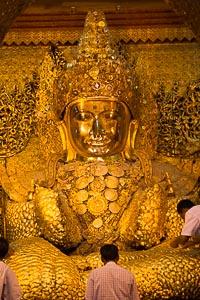 Mandalay pagode Mahamuni