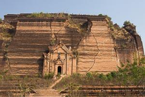 Mingun pagode inachevée