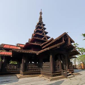 Innwa Ava monastère Bagaya Kyaung