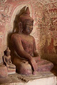 Monywa grottes Powing Taung