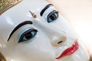 Rangoun bouddha couché Kyauk Htat Gyi