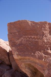 Chili Pétroglyphe