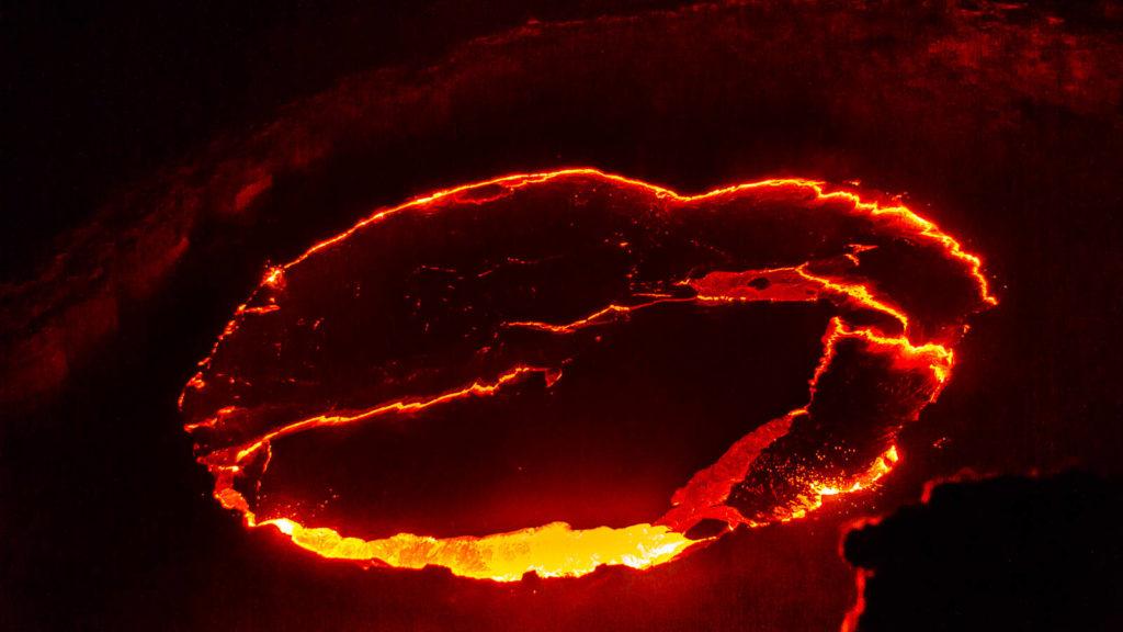 Ethiopie volcan Erta Ale