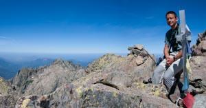 sommet Monte d'Oro