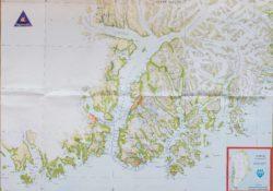 carte voyage trek Groenland