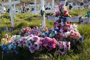 Groenland cimetière