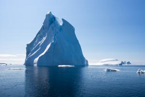 Groenland iceberg