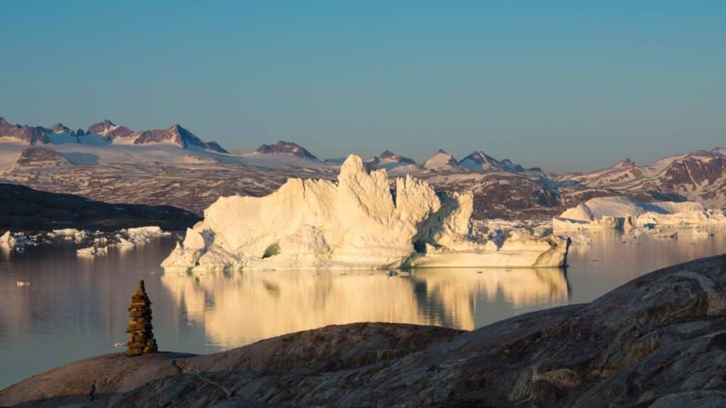 blog trek Groenland