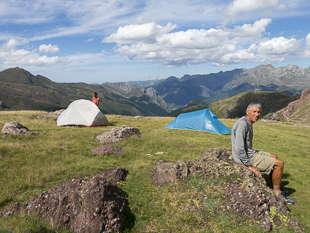 bivouac vallée d'Ossau