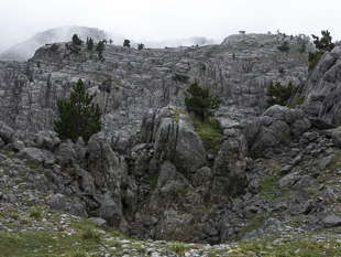 Col d'Anaye karst