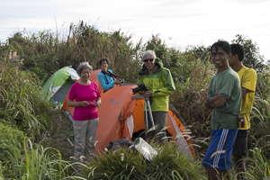 camping volcan Ibu