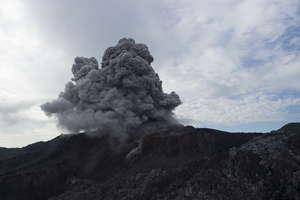 éruption Ibu