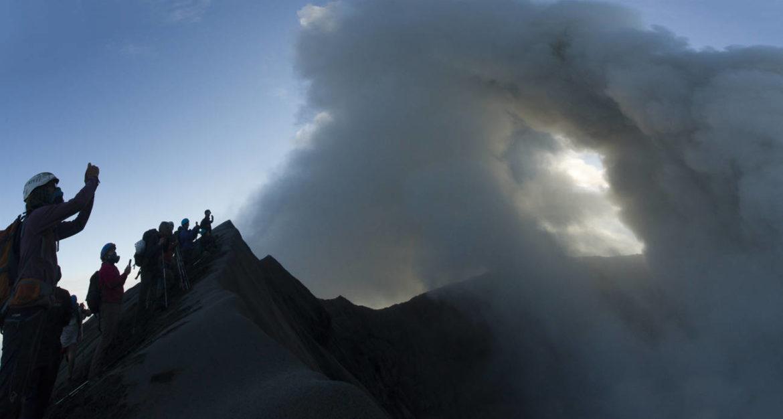 Indonésie trek volcan