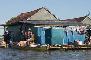 lac Tempe maison flottante
