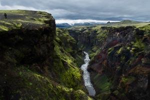 Emstrur, canyon Markarfljotsgljufur