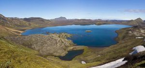 Landmannalaugar lac Frostastadavatn