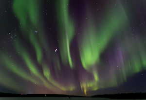 Laponie aurore boréale