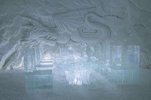 snow village game of thrones