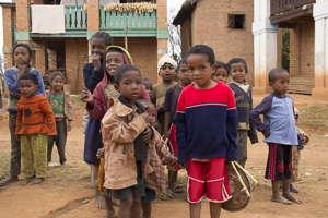Madagascar enfants