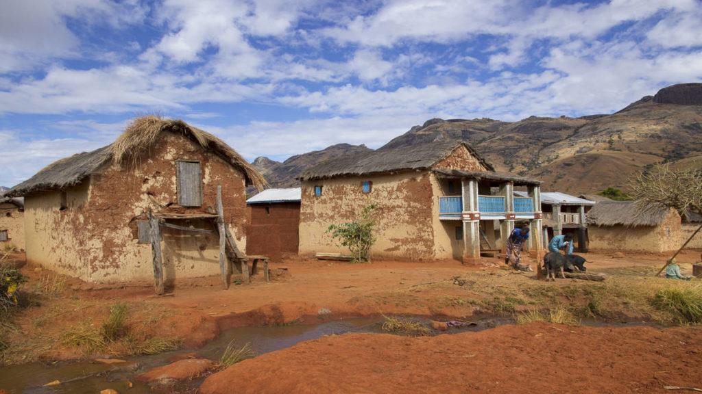 Madagascar trek ile rouge