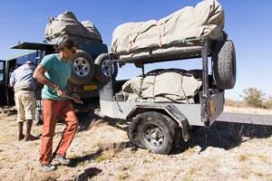 pistes Namibie