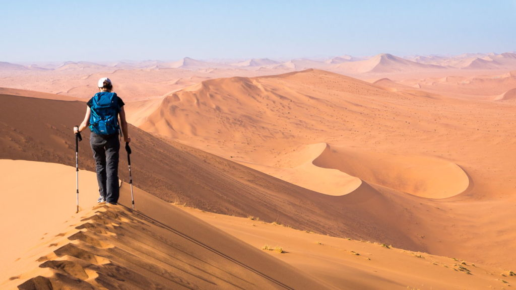 trek désert Namib