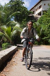 vélo Praslin