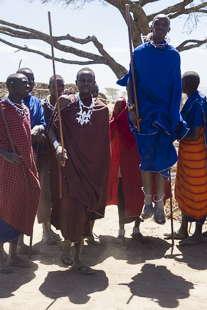 danse Massaï