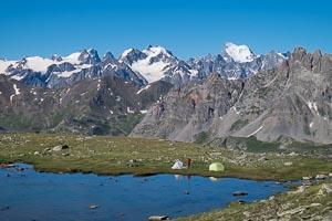 Bivouac lacs des Gardioles
