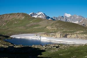 Lauzet lac de la Mine